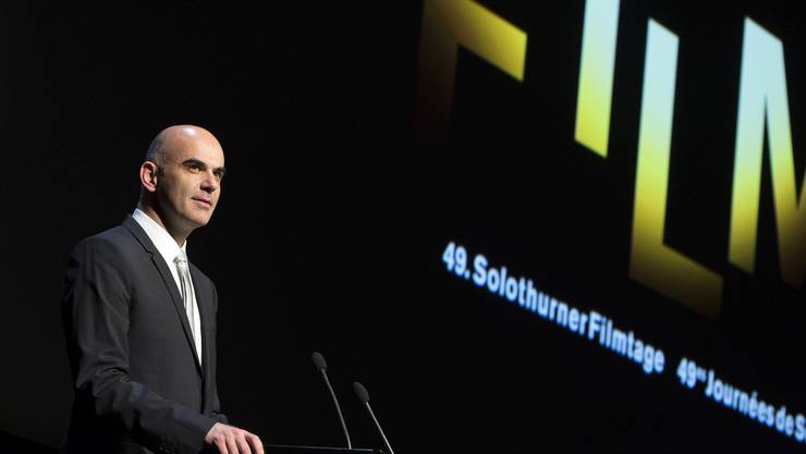 Bundesrat Alain Berset wird auch die 50. Ausgabe der Solothurner Filmtage eröffnen.