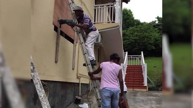 Jean-Pierre Carène ist in Guadeloupe und berichtet vom nahenden Hurrikan Maria.