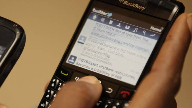 In Erwartung des neuen Betriebssystems setzte die Blackberry-Aktie zu einem Höhenflug an.