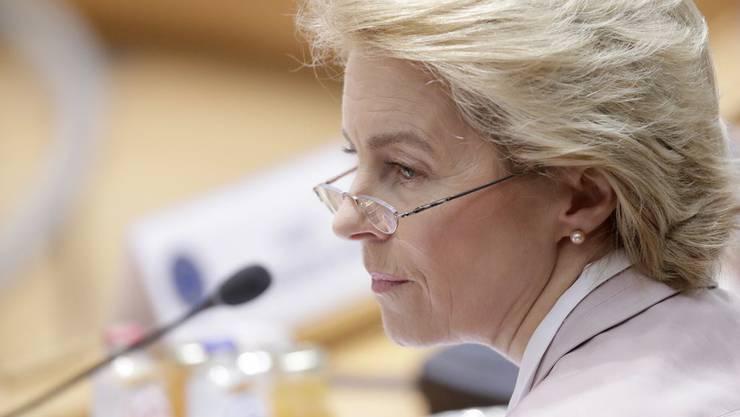 Die zukünftige EU-Kommissions-Präsidentin Ursula von der Leyen.