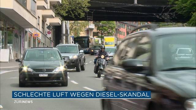 Diesel-Skandal verschmutzt Luft in Zürich