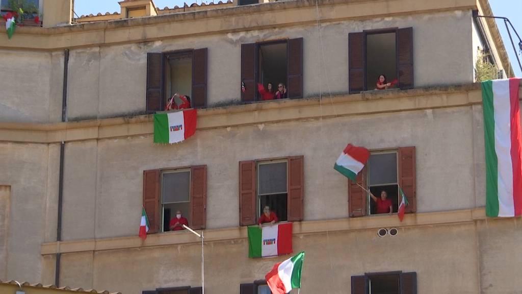 Italien feiert 75 Jahre Befreiung im Corona-Modus
