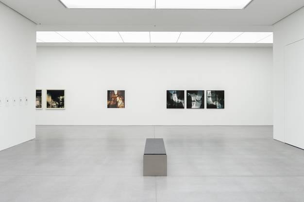 Ausstellung Carte de visite von Gaudenz Signorell im Bündner Kunstmuseum. Fotografiert am 22. Februar 2018 Bild Yanik Bürkli Der Bündner Fotokünstler Gaudenz Signorell zeigt im Bündner Kunstmuseum eine grosse Ausstellung