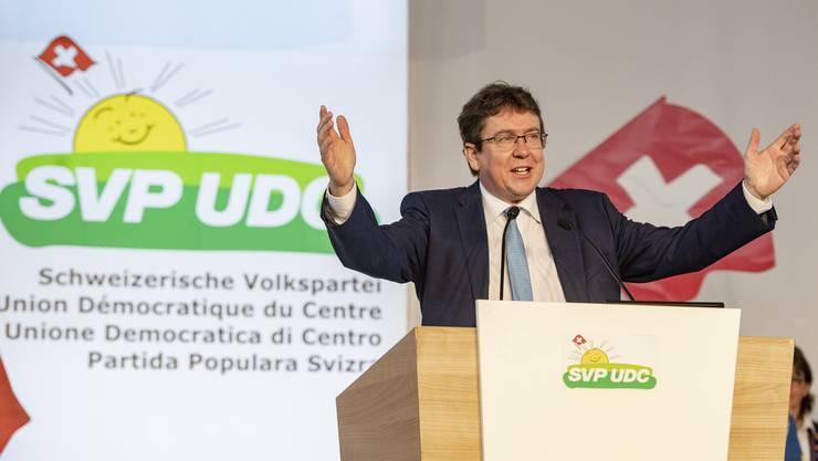 Am 28. März sollen die Delegierten der SVP Schweiz seine Nachfolge bestimmen: Albert Rösti hat die Partei seit 2016 geführt.