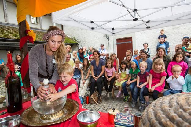 Orientalisches Wochenende auf Schloss Lenzburg