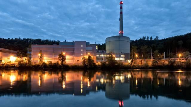 Blick auf das AKW Mühleberg - das ENSI fordert dringende Nachrüstungen (Archiv)