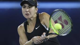 Belinda Bencic startete stark ins Turnier von Toronto