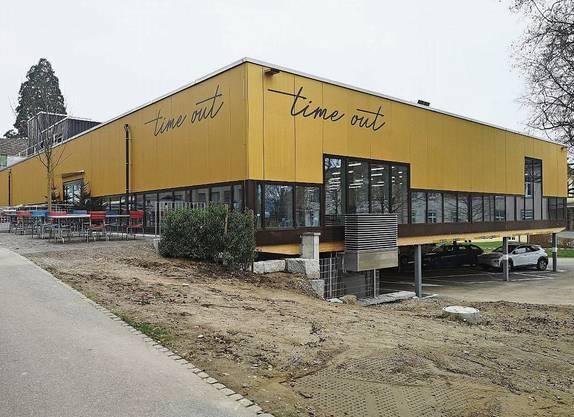 Geht am Montag in Betrieb: das neue Personalrestaurant «time out».