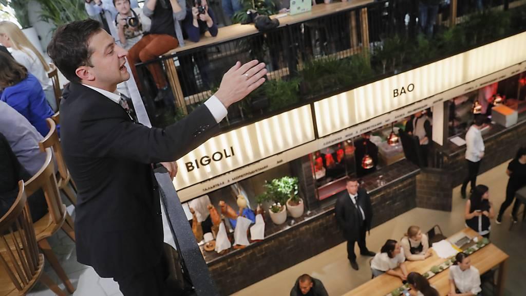 Selenskyj hält rekordmässig lange Pressekonferenz ab