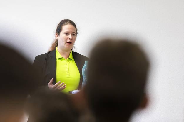 GLP-Kantonsrätin Christa Stünzi erklärte, wieso die Schweiz eine Führungsrolle im Klimaschutz einnehmen muss.