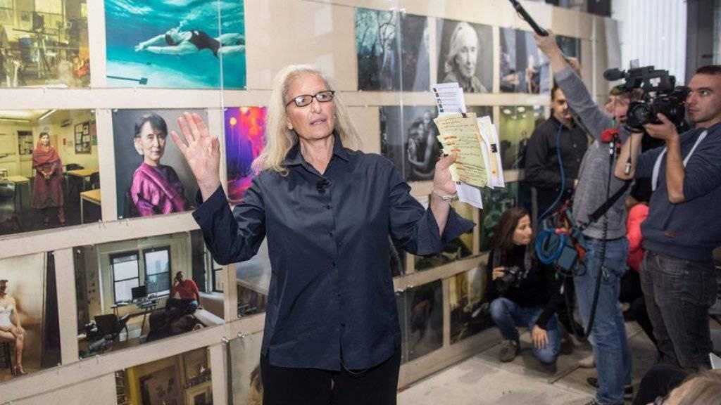 """Ungewöhnliche Frau, ungewöhnliche Porträts: Die neue """"Women""""-Fotoserie von Annie Leibovitz ist ab Ende Januar in Zürich zu sehen."""