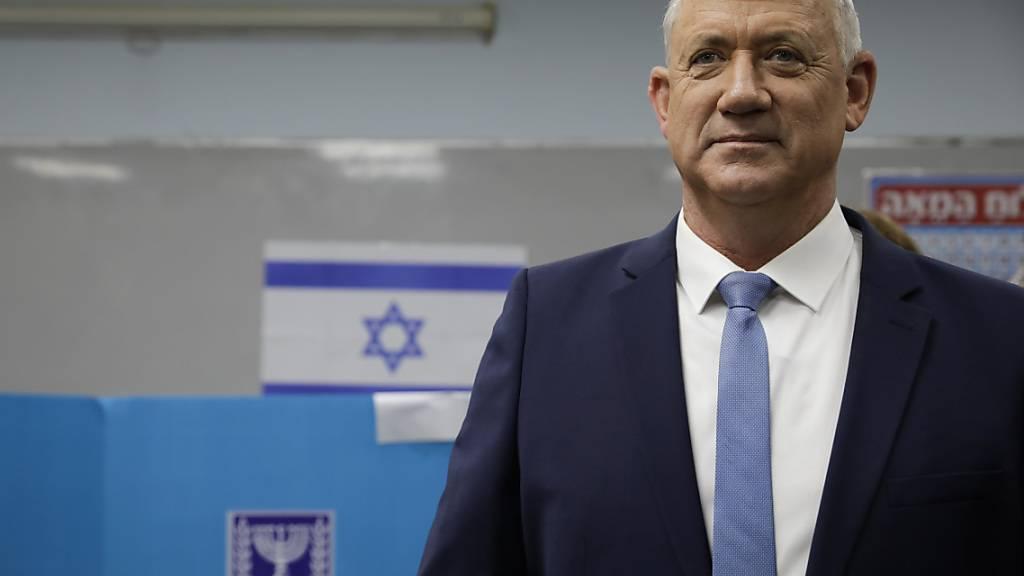Grosse Koalition von Gantz und Netanjahu zeichnet sich in Israel ab
