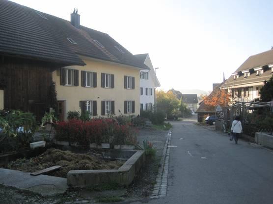 Aeschstrasse - Dorfrand