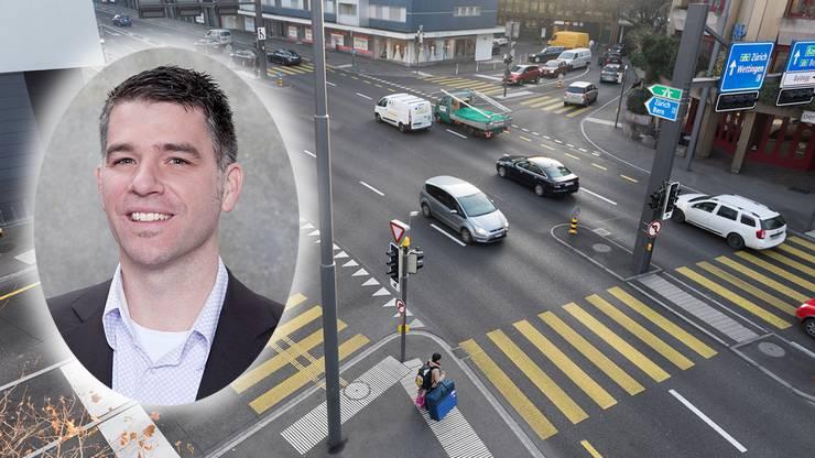 Der Badener Stadtrat Matthias Gotter freut sich über das Urteil des Verwaltungsgerichts. (Archiv)