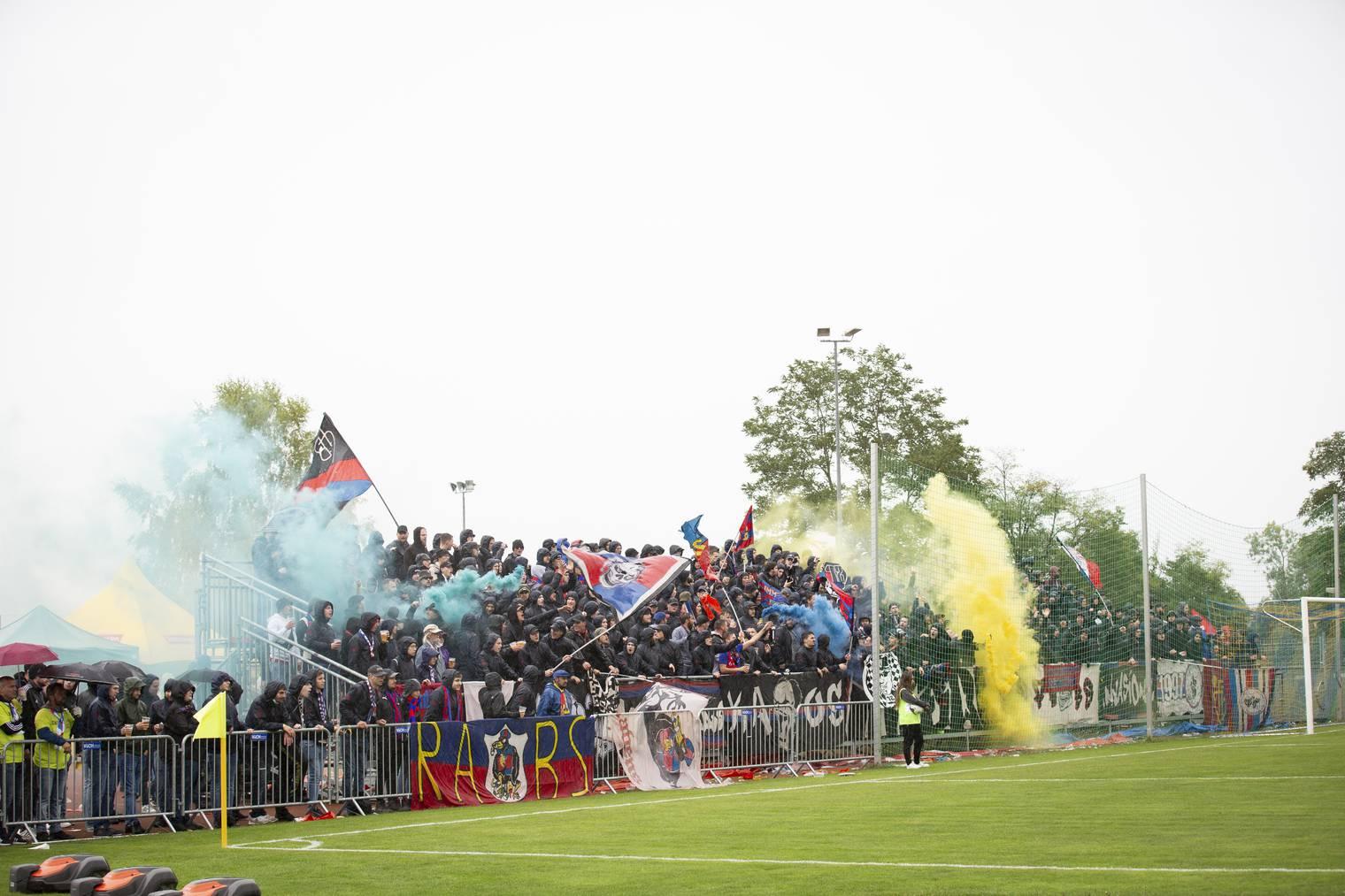 Die Basel-Fans zeigten sich von ihrer besten Seite.