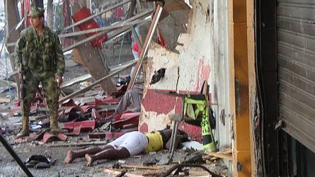 Neun Menschen sterben bei Anschlag in Kolumbien