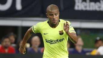 Barcelonas Rafinha verletzte sich erneut schwer am Knie