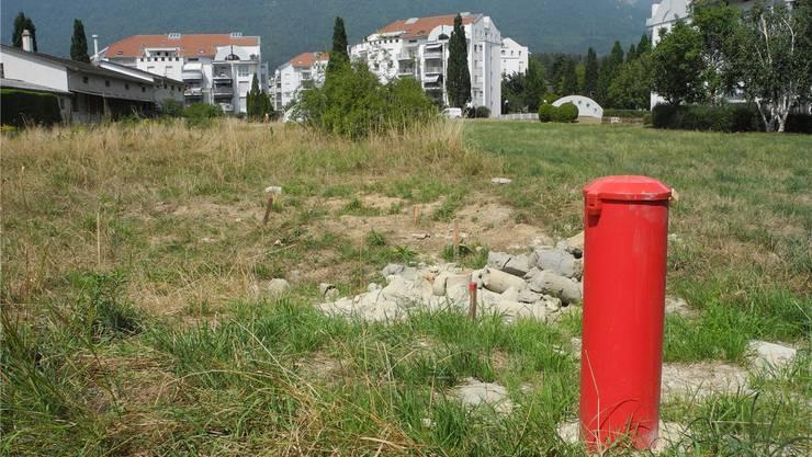 Auf dem Bauplatz zwischen Güter- und Freiestrasse braucht es vor demBaubeginn Bodensanierungen.