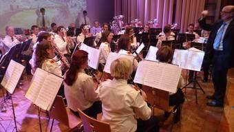 Die Musikgesellschaft Kaisten überzeugte das Publikum mit einem bunten Strauss schöner Melodien.