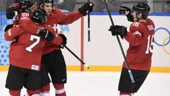 Schweiz bezwingt Lettland Sekunden vor der Schlusssirene