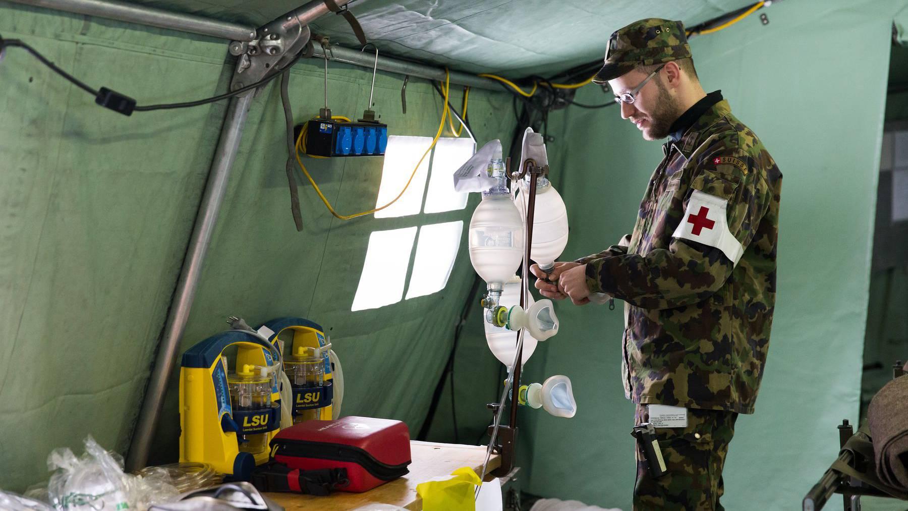 Armee unterstützt im Kampf gegen Coronavirus