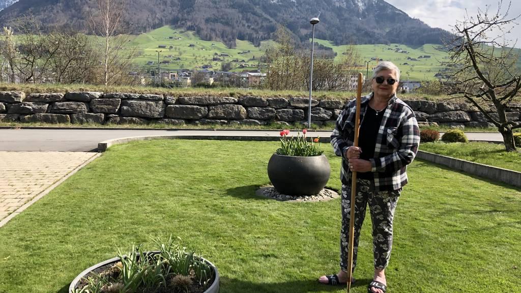 Jeannine Schori aus Ennetbürgen