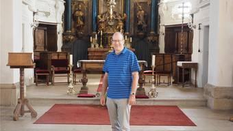 Kirche Herznach, im Fricktal (16.08.2019)