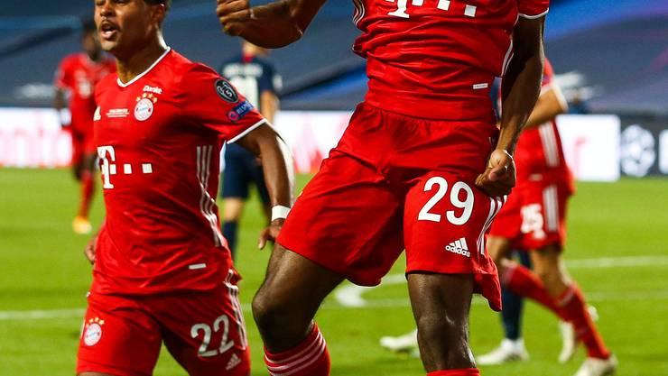 Kingsley Comans Treffer ist der einzige des Spiels. Die Bayern gewinnen die Champions League.