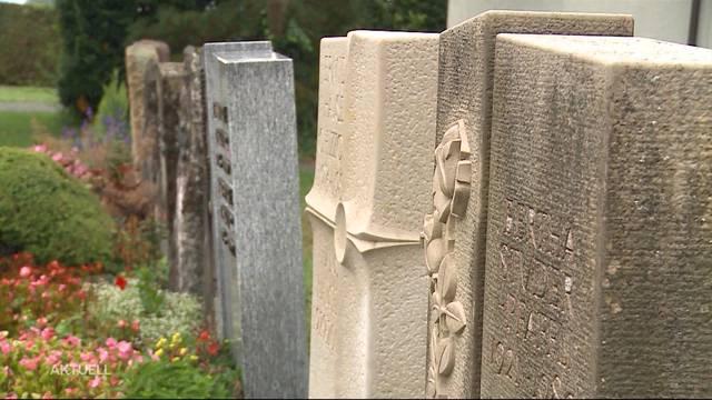 Waldfriedhof wird immer mehr zum Trend