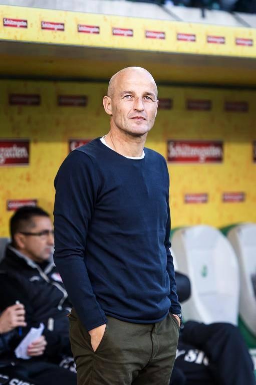 Mit dem FC Sion war Zeidler in der Saison 16/17 auch einige Male in St.Gallen zu Gast. (© Keystone/Tagblatt)