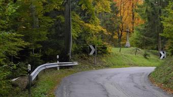 Noch heute ist das alte Wegkreuz am sogenannten «Wahlestich» an der Scheltenpassstrasse zu sehen. Manchen schauderts immer noch.