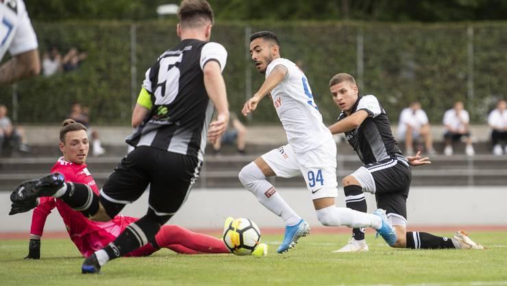 Es hätte ihr Spiel werden sollen, doch am Schluss verlieren die Black Stars 1:2 gegen den FC Zürich.