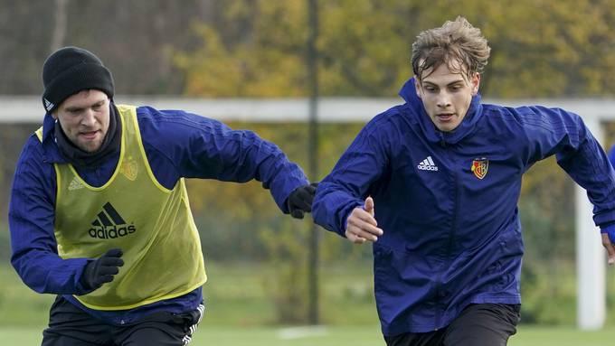 Carmine Chiappetta und andere hoffnungsvolle FCB-Junioren trainieren aktuell mit den Profis mit.