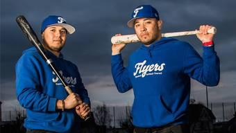 «Hier wird gut gearbeitet»: David Castillo (r.) und Javier Rodriguez gefällts bei den Fliegern.