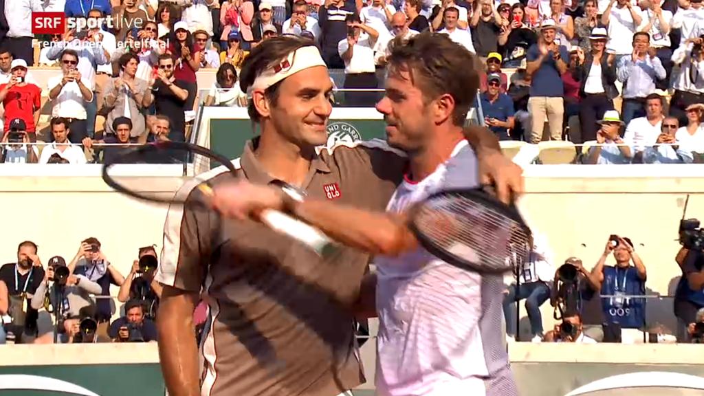 French Open: Federer gewinnt das Schweizer-Duell