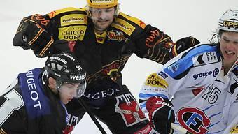 Bern gewann das umkämpfte Derby gegen Fribourg.