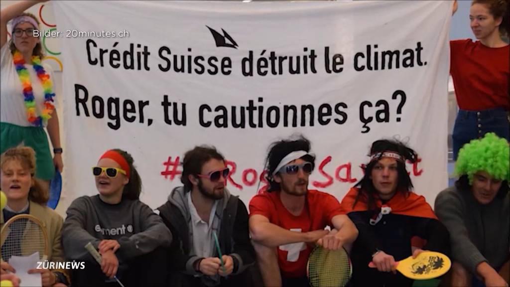 Klimaaktivisten nach Tennis-Partie in Credit Suisse freigesprochen