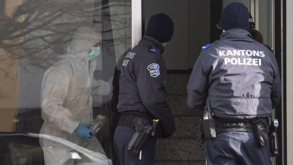 Lebenslängliche Freiheitsstrafe nach Zweifach-Mord von Hausen AG