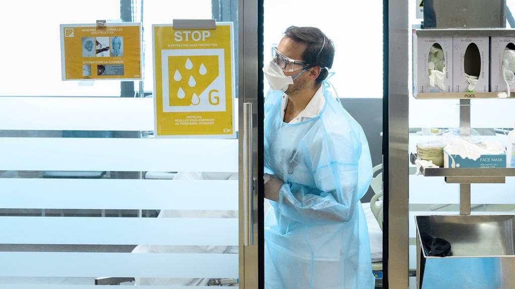BAG meldet am Freitag 372 neue Infektionen mit dem Coronavirus