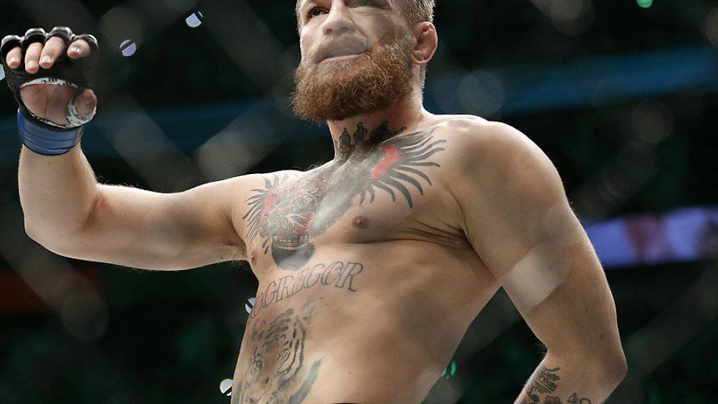 Der Ire Conor McGregor war im MMA-Käfig ein gefürchteter Mann