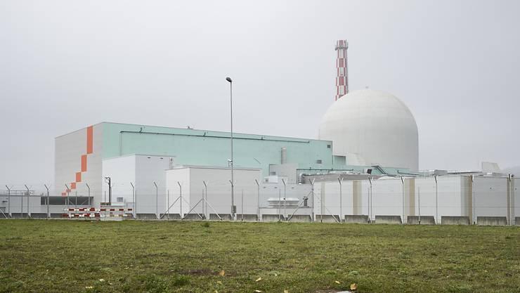 Das AKW Leibstadt hat die Energieproduktion 2018 gegenüber dem Vorjahr um fast 40 Prozent gesteigert. (Archiv)