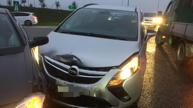 Der Unfall ereignete sich im Morgenverkehr in Kölliken.