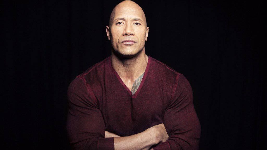 Dwayne «The Rock» Johnson hatte während eines Drehs kurz Zeit für die Patienten eines Kinderspitals (Archiv)