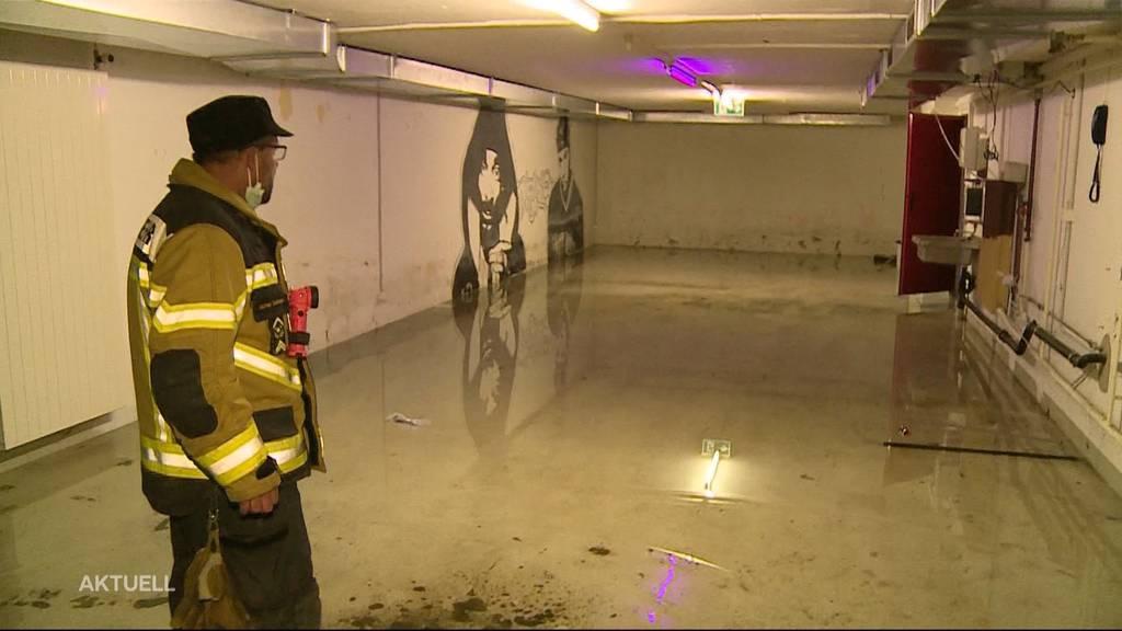 Heftige Gewitter: Rund 400 Schadensmeldungen im Kanton Solothurn