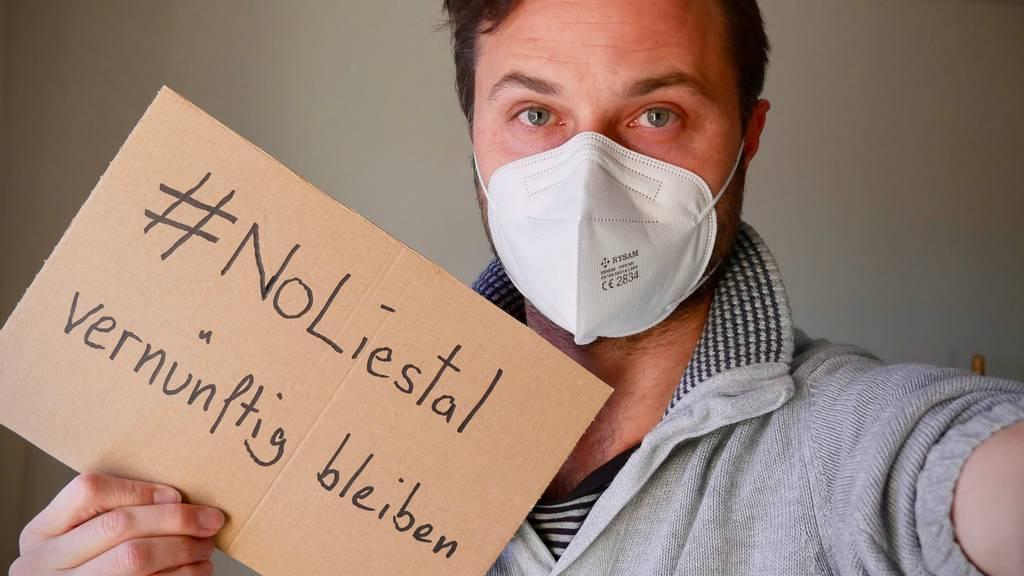 #NoLiestal – So demonstrieren die Massnahmen-Befürworter