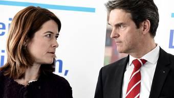 FDP-Parteipräsidentin Petra Gössi und Fraktionschef Beat Walti haben mit der Bundeshausfraktion über das Verhältnis der Schweiz mit der EU diskutiert.