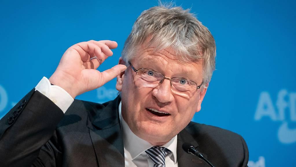 Der langjährige AfD-Co-Vorsitzende Jörg Meuthen will bei der Neuwahl des Parteivorstandes im Dezember nicht mehr für den Spitzenposten kandidieren.