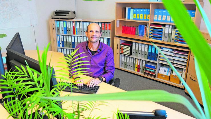 Gemeindeschreiber René Fischer: «Wir haben eine ausserordentlich gute Zusammenarbeit.»