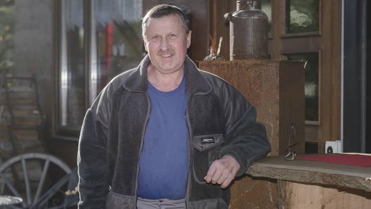 Der Häfelfinger Gemeindepräsident Eugen Strub: «Mit Zuzügern haben wir keine Probleme.»
