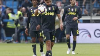 Kleiner Frust bei Juventus: Paulo Dybala & Co. verlieren in Ferrara und sind noch nicht Meister